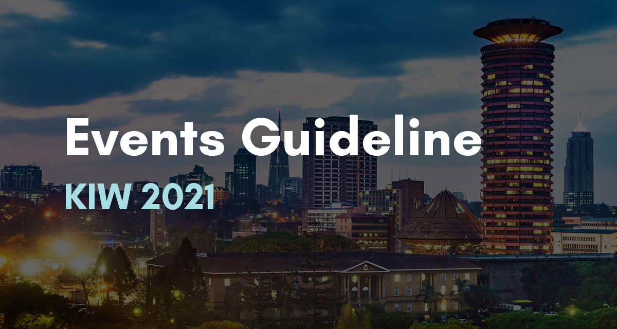 Events Guideline